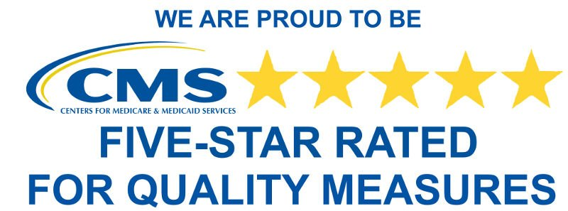 Five Star Rated for Quality Measures