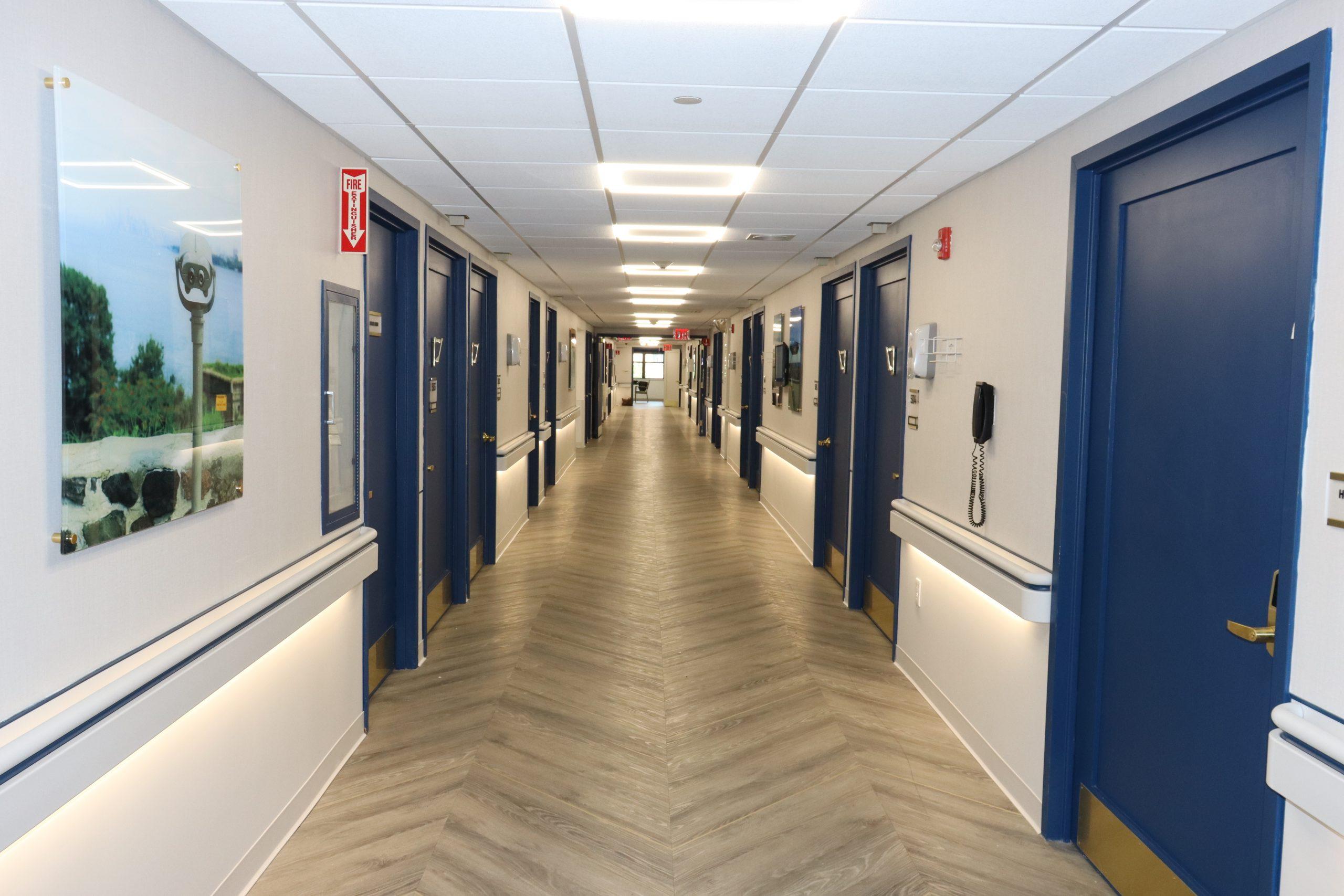 Hallway of unit
