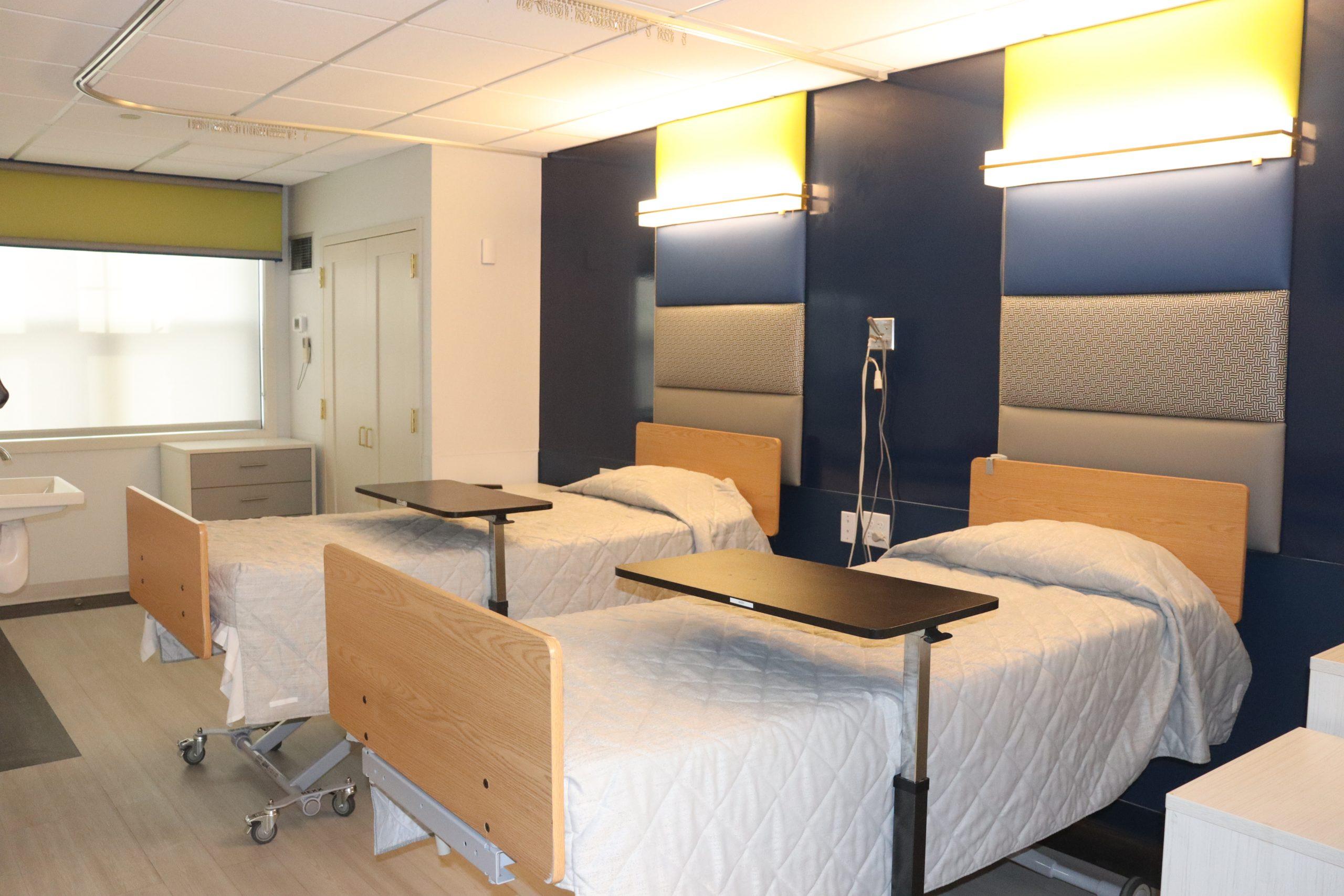 Renovation of patient's room